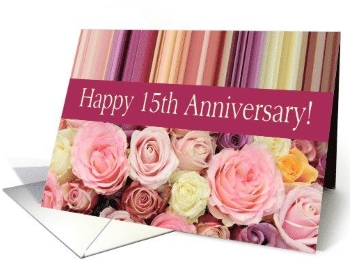 15th years of happiness  sc 1 st  Wedding Anniversary Gifts By Year & 15 Year Anniversary Gifts - A Full List Of Ideas