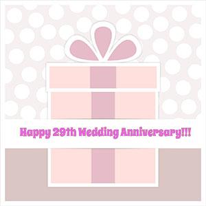 29th Wedding Anniversary Gift 021 - 29th Wedding Anniversary Gift