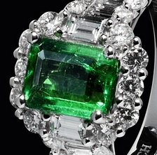 emerald wedding anniversary gift