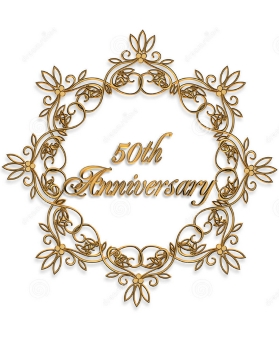 Golden Wedding Anniversary Gift Ideas. 50th Golden Wedding Anniversary ...