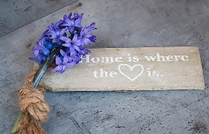 home is where love is